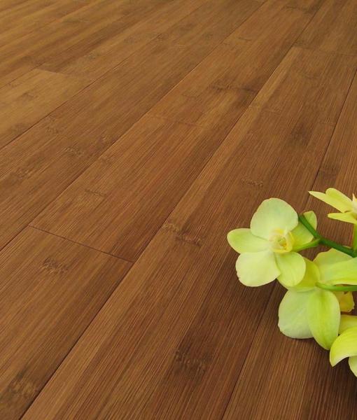 Parquet bamboo prefinito carbonizzato orizzontale costo for Parquet armony floor
