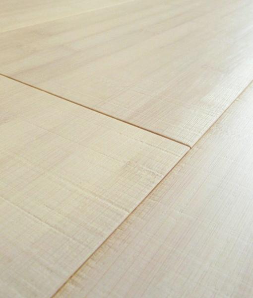 parquet armony floor bamboo orizzontale sbiancato neve segato 002