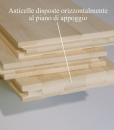 parquet armony floor parquet bamboo orizzontale sbiancato 001