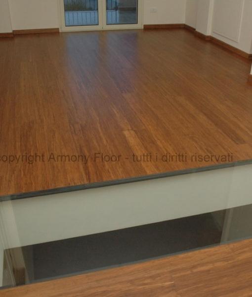 parquet-armony floor parquet bamboo strand woven carbonizzato m 002