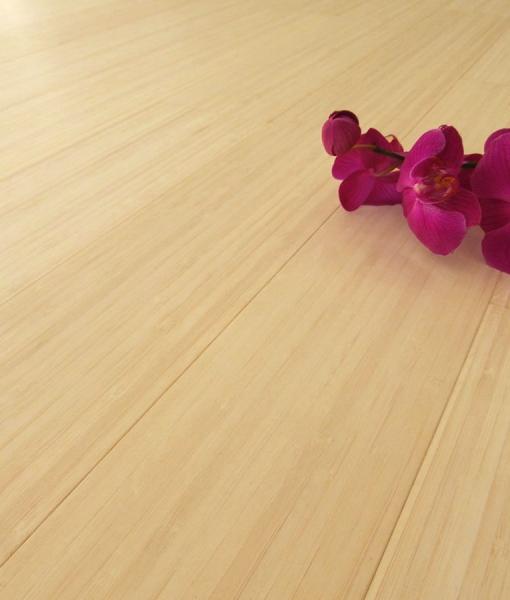 Parquet bamboo prefinito sbiancato verticale costo for Parquet armony floor